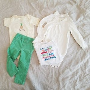 (Organic) Onesie & Pants bundle
